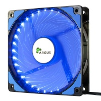 INTER-TECH Argus L-12025 BL moder LED 120mm ventilator
